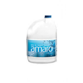 Eau de source naturelle Amaro 4 X 4L traditionnel